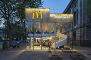 This McDonald's Rotterdam Location Features a Modern Renovation