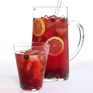 Berry Delicious Iced Teas - This Mixed Berry Iced Tea is Delightfully Tart