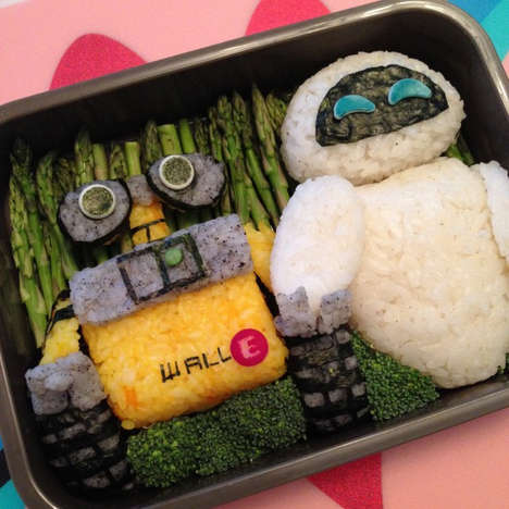 Cartoon Sushi Creations - These Bento Boxes are Filled with Adorable Edible Cartoon Characters