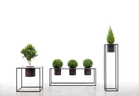 Chic Garden Furniture - The Pot Riviera by Aldo Cibic Creates a Miniature Landscape Inside and Out