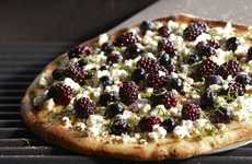 Grilled Berry Pizzas - Driscoll's Fruit-Topped Pizza Recipe is a Healthy Alternative to Classic Pies