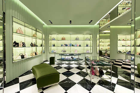 Middle Eastern Couture Boutiques - The First-Ever Prada Saudi Arabia Store is Built in Jeddah