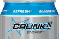 Botanical Energy Drinks - Crunk Energy's Tropical-Blast Gives a Boost with Herbs and Botanicals