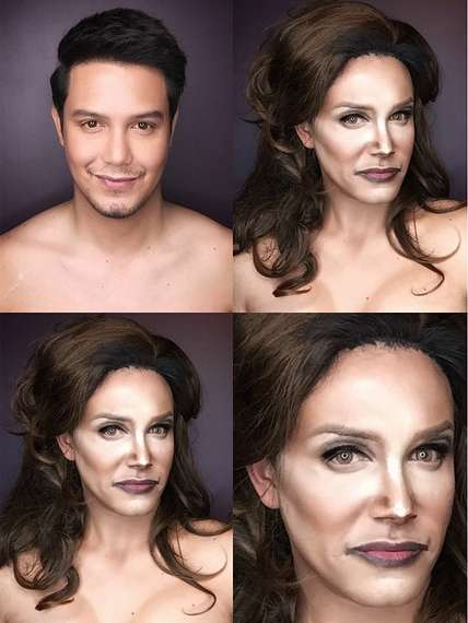 Pop Culture Makeup Transformations - Paolo Ballesteros Channels His Inner Caitlyn Jenner