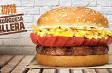 Hybrid Hot Dog Burgers - This Unusual Burger Features a Grilled Hot Dog on Top of a Beef Patty