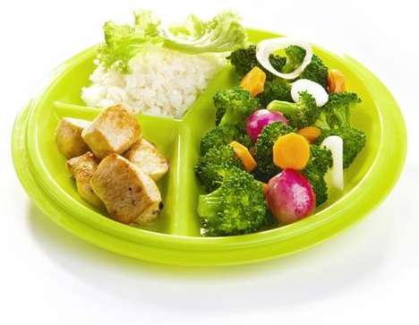Portion Control Lunch Containers - The Precise Portions Travel Pack is Aimed at Those with Diabetes
