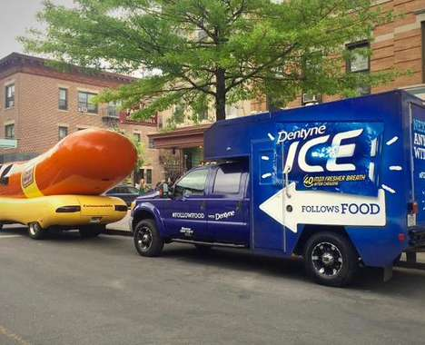 Breath-Freshening Food Trucks