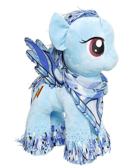 Branded Fashion Toys - My Little Pony Gets a Luxe Makeover by Labels Like Versace and Balmain