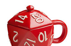 Die-Inspired Dishware - The Critical Hit D20 Mug From ThinkGeek is for Role Play Game Enthusiasts