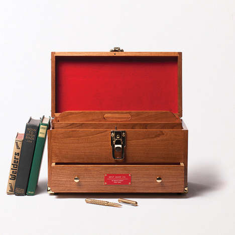 Artisanal Office Storage - Best Made Company's Utility Chest Boasts a Rustic and Vintage Look