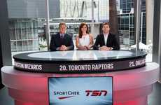 Sports Broadcasting Shops - Sport Chek's Flagship Store Includes a Built-In Broadcasting Studio