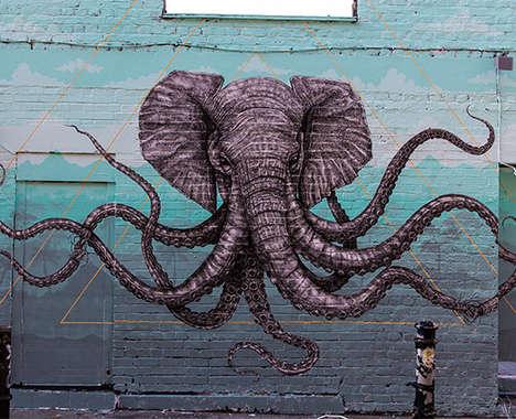 32 Examples of Animal-Inspired Street Art