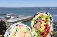 Sushi Burrito Restaurants - Sushirrito Combines Two Separate Meals for an Epic Hybrid