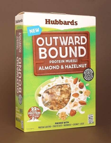 Protein-Packed Cereals - Hubbards' 'Outward Bound' Protein Cereal Provides a Hearty Boost