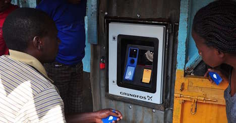 Clean Water Vending Machines - These Water ATMs Help Bring Clean Water to the Streets of Nairobi
