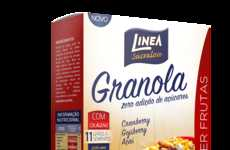 Superfood Granola Cereals - Linea's Granola Breakfast Cereal Uses Acai, Goji Berries and Maca