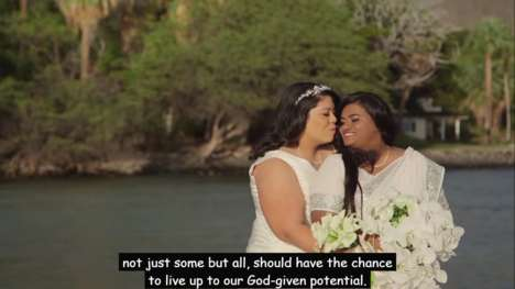 Politically Endorsed Equality Ads - This Marriage Equality Campaign was Created by Hilary Clinton