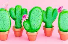 Confectionery Cacti Crafts