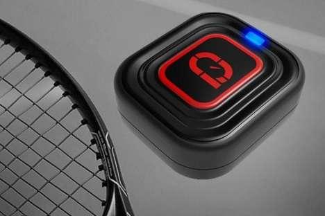 Performance-Enhancing Racket Sensors - This New Device Helps Users Improve Their Tennis Swing