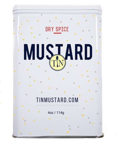 Artisanal Mustard Blends - This New Dry Mustard Contains a Unique Blend of Spices and Mustard Seeds