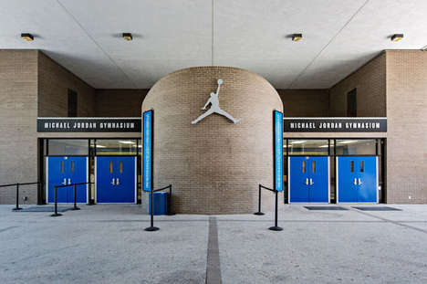 Celebratory Gym Makeovers - Jordan Brand Renovates the NBA Allstar's Emsley A. Laney High School Gym