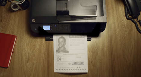 Auto-Printing Crime Campaigns - Missing Person Posters Automatically Print in Nearby Homes