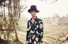 The Net-a-Porter In Full Bloom Photoshoot is Realistically Pastoral