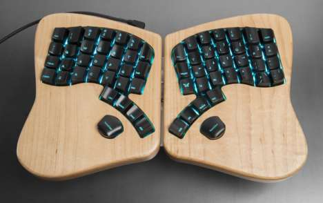Customizable Ergonomic Keyboards - The 'Model 01' Makes Typing on a Keyboard a Pain-Free Activity