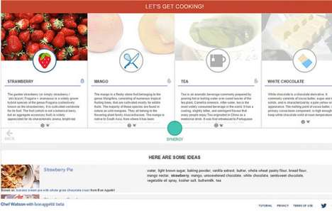 Supercomputer Recipe Platforms - The IBM Watson Supercomputer Now Crafts and Shares Recipes Online