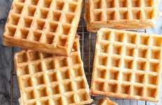 Fluffy Overnight Waffles