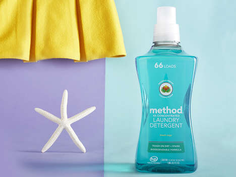 Tropical Hand-Pump Detergents - These Eco-Friendly Laundry Soaps are an Organic Way to Clean Clothes