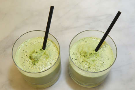 Exotic Green Smoothies - This Coconut Matcha Smoothie is Dairy-Free and Delicious