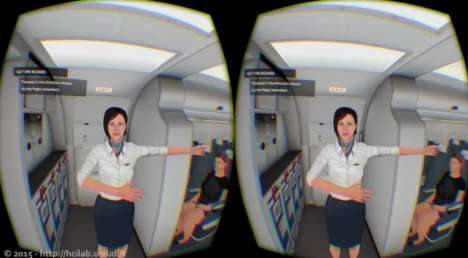 Inflight Emergency Simulations - This Virtual Reality Training Simulates a Sudden Plane Landing