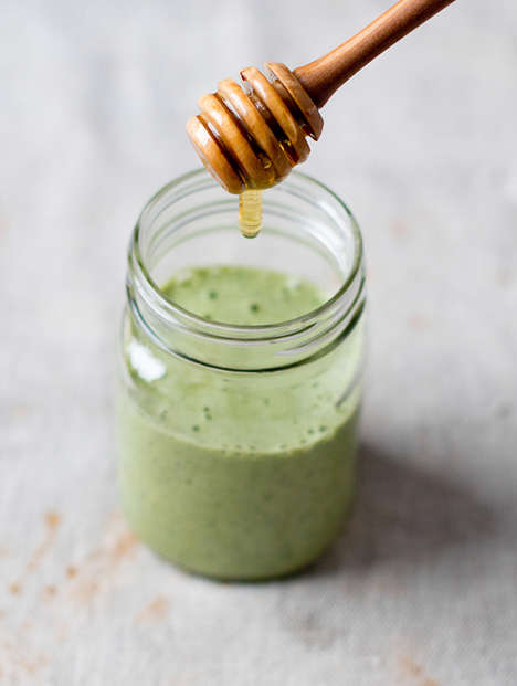 Ginger Detox Smoothies - This Healthy Beverage from Oh My Veggies Boosts One's Immune System