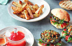 This Savory Stuffed Burger Delivers Major Flavor with Minimal Calories