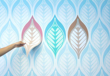 Magnetized Wall Decals - This Magnetic Paint Lets You Easily Redecorate Walls Over and Over Again
