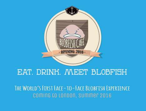 Ugly Animal Cafes - The Blobfish Cafe in Shoreditch Will Have Three Blobfish Hosts
