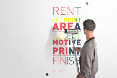 Hand-Held Wall Printers - This Design Tool Lets You Print Graphics Directly onto Your Wall