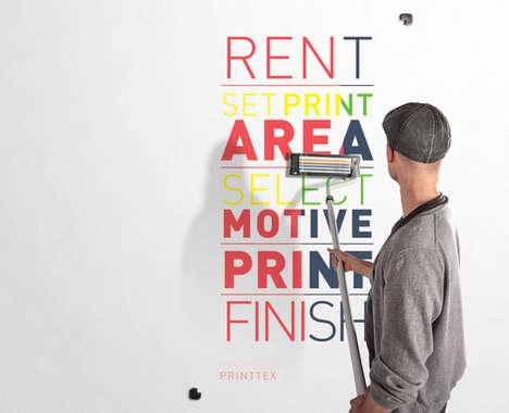 Hand-Held Wall Printers