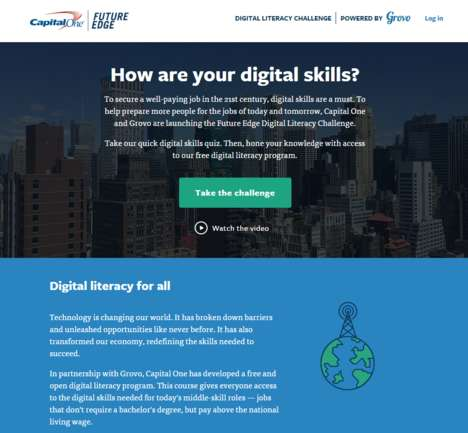 Digital Literacy Campaigns - Grovo and Capital One Help to Hone Skills for the Digital World