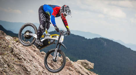 Off-Road Electric Bikes - This Eco-Friendly Bike Features Electric Powertrain Technology