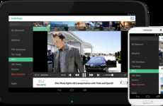 News Streaming Platforms - The Watchup Apps Brings Curated Television Reporting to Smartphones