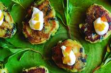 These Veggie Cakes Make the Perfect Pre-Meal Snack for Vegetarian Foodies