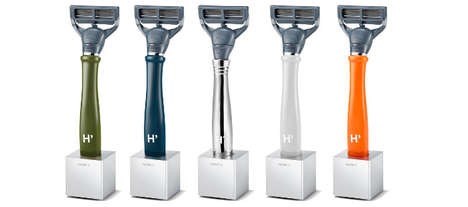 Aluminum Razor Blade Holders - These Simplistic Razor Holders Keep Your Razor High & Dry