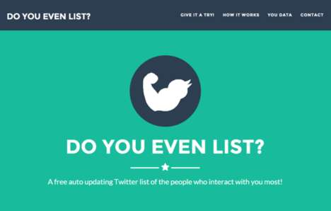 Social Media Scoring Tools - 'Do You Even List' is a Tool to Track and Score Your Twitter Page