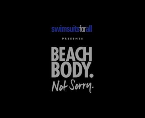 Curvy Body-Embracing Ads