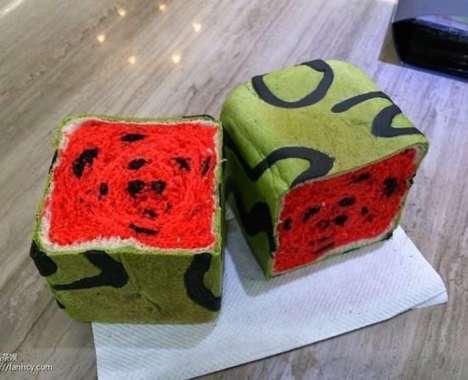 Summery Watermelon Bread