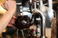 Tea-Based Cocktail Bars - The 'Brew' Pub Only Serves Hot Loose Leaf Tea & Cool Tea Cocktails