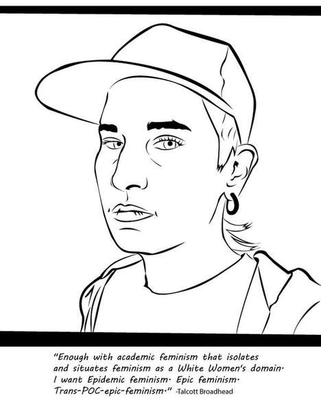 Feminist Coloring Books - This Clever Activity Book Helps to Combat Misogyny and Racism