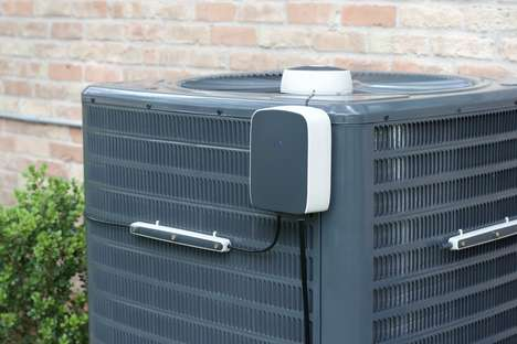 Air Conditioner-Cooling Contraptions - The Mistbox Pre-Cools Air Conditioners to Increase Efficiency